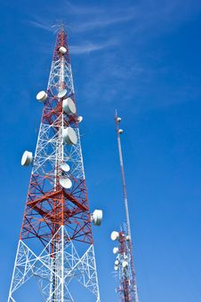 Free Broadcaster Or Transmitter Tower Stock Photos - 20416553