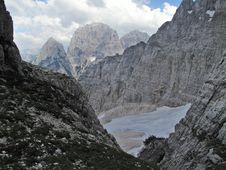 Free Jof Fuart - Vis - In Italian Part Of Julian Alps Stock Photography - 20417332