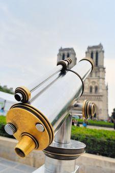 Free Notre-Dame Portal Royalty Free Stock Photo - 20417745