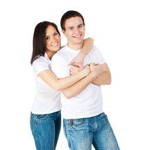 Free Smiling Couple Royalty Free Stock Photos - 20417788