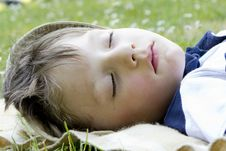 Free Sleeping Boy Royalty Free Stock Photo - 20417905