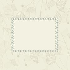 Free Background With Pearls Royalty Free Stock Photo - 20418095