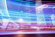 Free Lujiazui Night. Royalty Free Stock Photo - 20418645
