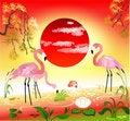 Free Flamingos Royalty Free Stock Photography - 20423927
