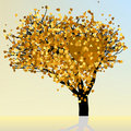 Free Heart And Love Design In Gold Colors. EPS 8 Stock Images - 20428964