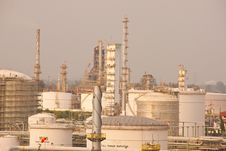 Gas Refineries Plants Royalty Free Stock Photo