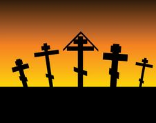 Free Cemetery Royalty Free Stock Image - 20420646