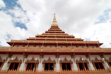 Free Wat Nong Waeng Temple, Thai Royal Temple. Stock Photos - 20422963