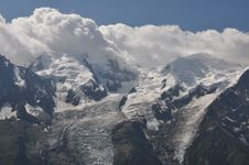Free Mont Blanc Massif Royalty Free Stock Photos - 20422988