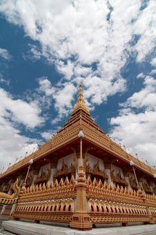 Free Wat Nong Waeng Temple, Thai Royal Temple. Royalty Free Stock Image - 20423256