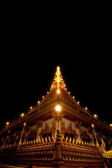 Free Wat Nong Waeng Temple, Thai Royal Temple. Royalty Free Stock Image - 20423336