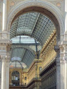 Free Italy - Milan - Gallery Vittorio Emmanuele II Stock Image - 20423731