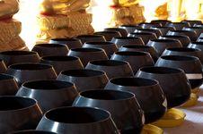 Free Monk S Arms-bowl, Thailand Stock Photos - 20423793