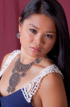Gorgeous Young Asian Woman Royalty Free Stock Image