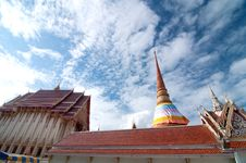 Free Thai Temple With Pagoda Stock Photo - 20424820