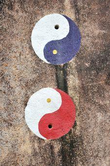 Free Yin Yang Symbols Stock Images - 20425074