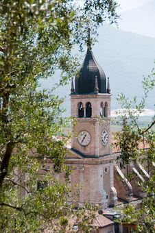 Free The Bell Tower Of Arco / Italy Stock Images - 20425084