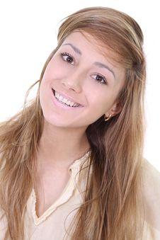 Free Portrait Of Beautiful Woman Stock Image - 20425171