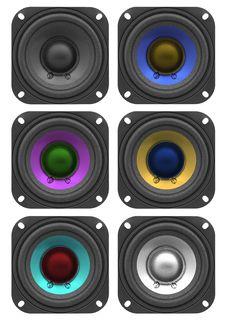 Free Speakers Stock Image - 20425241