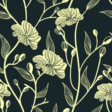 Free Abstract Floral Background Royalty Free Stock Photos - 20425638