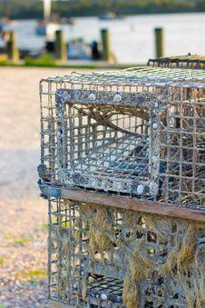 Free Fishermans Trap Stock Image - 20426771