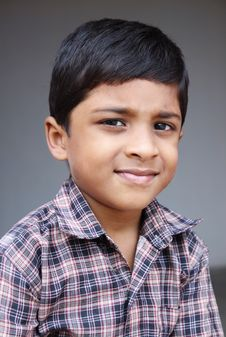 Free Indian Cute Little Boy Stock Photo - 20427290