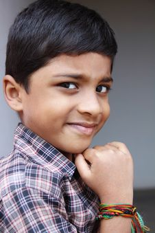 Free Similing Indian Little Boy Royalty Free Stock Image - 20427306