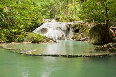 Free Erawan Waterfall Stock Photo - 20427440