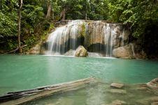 Free Erawan Waterfall Royalty Free Stock Images - 20427449