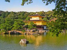 Free Golden Temple Or Golden Pavillion Stock Photography - 20427802