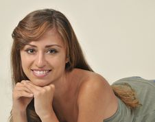 Free Portrait Of A Young Hispanic Woman Royalty Free Stock Photos - 20427878