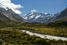 Free Mount Cook, New Zealand Stock Photos - 20428003