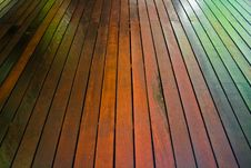 Free Wooden Floor Royalty Free Stock Photography - 20428177