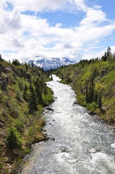 Free View From The Yukon Stock Image - 20428481