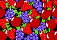 Fruits Pattern Stock Image