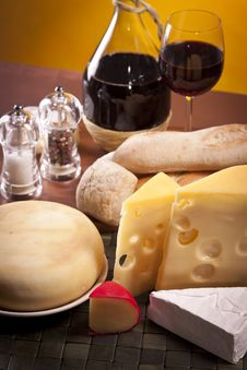 Free Cheese Composition Stock Image - 20429011