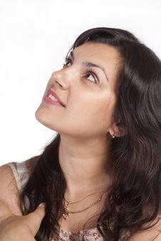 Free Woman On White Stock Image - 20429421