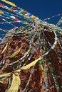 Free Tibetan Prayer Flags Stock Image - 20431681