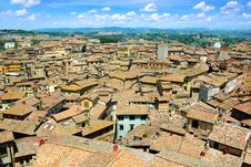 Free Panorama Of Siena, Italy Stock Image - 20430021