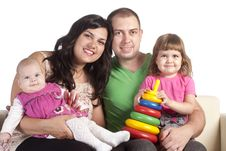 Free Family Of A Four Stock Photography - 20430032