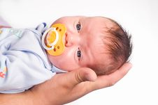 Free Cute Newborn Portrait Stock Photos - 20430283