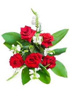 Free Red Roses Bouquet Stock Image - 20430681