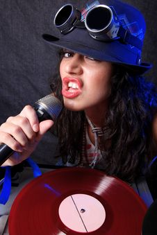 Free Cool DJ In Action Stock Images - 20430914