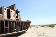 Free Ship In The Desert Royalty Free Stock Images - 20431589