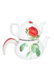 Free Teapot Hot Tea Breakfast Ceramic Porcelain Royalty Free Stock Photography - 20431607