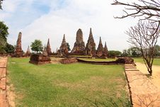 Free Khmer Temple In Ayutthaya Royalty Free Stock Photography - 20431897
