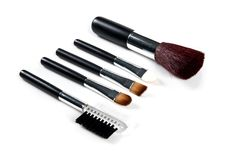 Free Cosmetic Brushes Stock Photos - 20432073