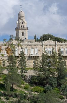 Free Dormicion Church And Abbey In Jerusalem Royalty Free Stock Photos - 20432378