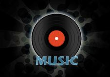 Free Vinyl Disc Wallpaper Royalty Free Stock Photo - 20432395