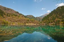 Jiuzhaigou, China Stock Photography